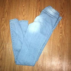 No Pockets Jeans